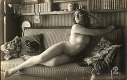 French Nude Series 4043-2 Postcard