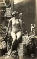 French Nude Series 4068-1
