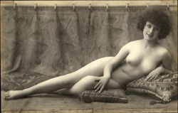 French Nude Series 4157-1