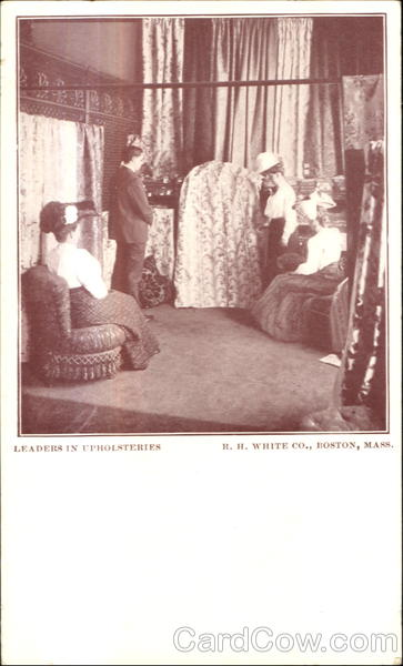 RH White Co. Leaders In Upholsteries Boston Massachusetts