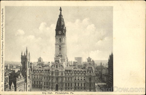 City Hall Philadelphia Pennsylvania