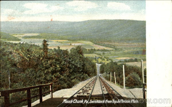Switchback From Top Jefferson Plain Munch Chunk Pennsylvania