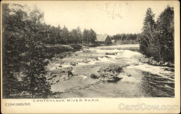 Contoocook River Park Concord New Hampshire