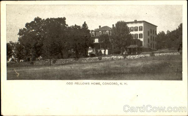 Odd Fellows Home Concord New Hampshire