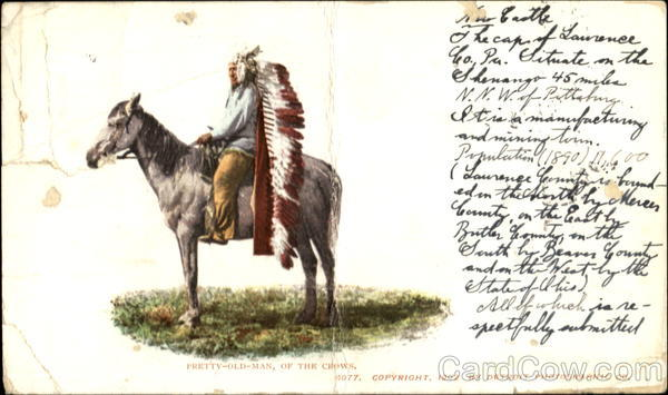Pretty-Old-Man Of The Crown Native Americana