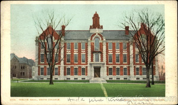 Seelyr Hall, Smith College Northampton Massachusetts