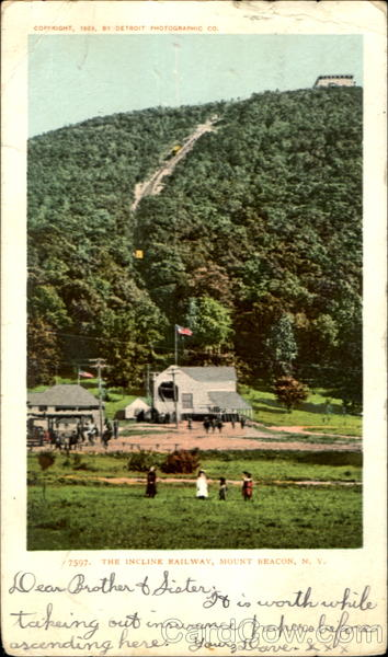 The Incline Railway Mount Beacon New York