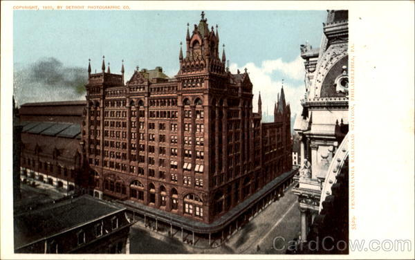 Pennsylvania Railroad Station Philadelphia