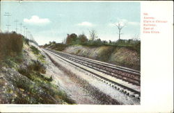 Elgin & Chicago Railway, East of Glen Ellyn