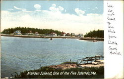 Malden Island, One Of The Five Islands