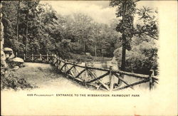 Entrance To The Wissahickon, Fairmount Park