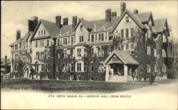 Merion Hall From South