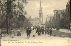 The Mall And Park St. Church