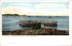 Fish Weir, Rockland Harbor