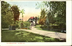 In Lord's Park Postcard