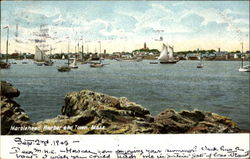 Marblehead Harbor And Town