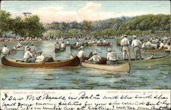 Canoeing On The Charles