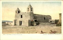 Old Church At Pueblo Of Isleta