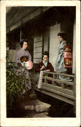 Japense Women The Love Letter