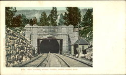 West Portal, Hoosac Tunnel Postcard