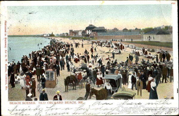 Beach Scenes, Old Orchard Beach Maine