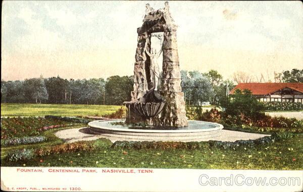 Fountain, Centennial Park Nashville Tennessee