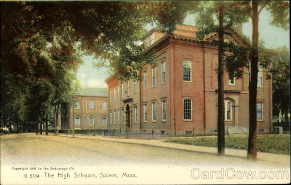the high schools salem  ma