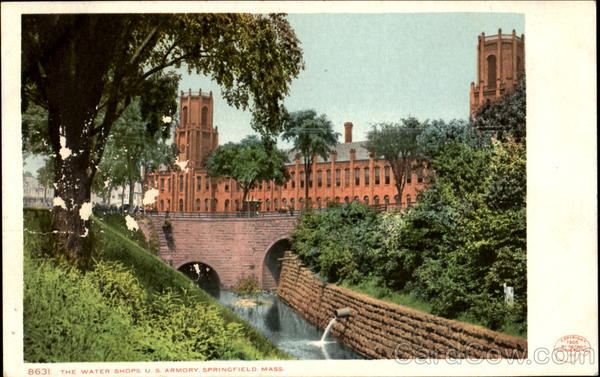 The Water Shops, U. S. Armory Springfield Massachusetts