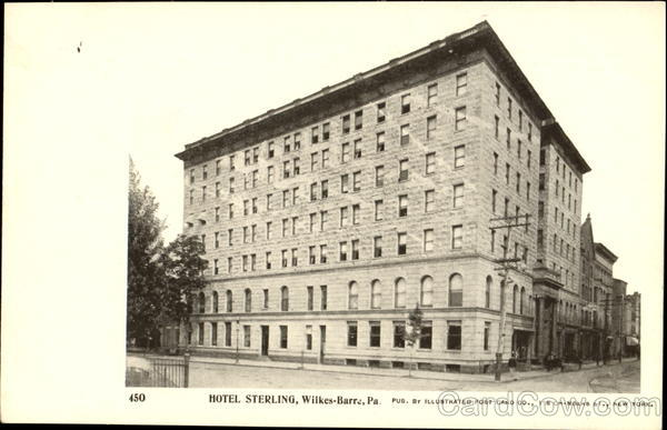 Hotel Sterling Wilkes-Barre Pennsylvania