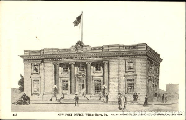 New Post Office Wilkes-Barre Pennsylvania