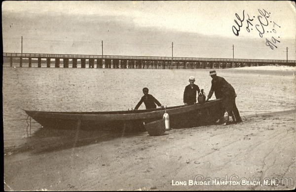 Long Bridge Hampton Beach New Hampshire