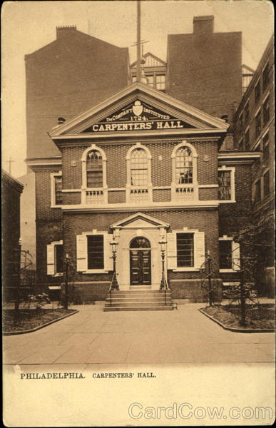 Carpenters Hall Philadelphia Pennsylvania