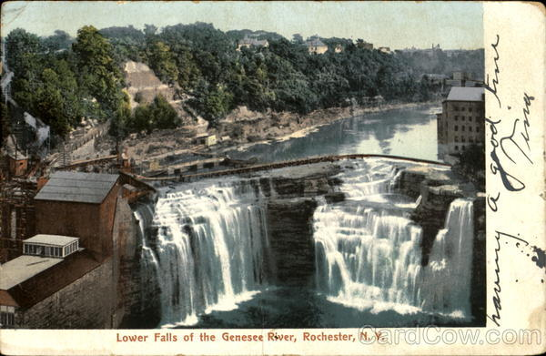 Lower Falls Of The Genesee River Rochester New York