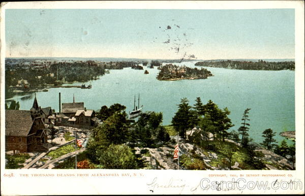 The Thousand Islands Alexandria Bay New York