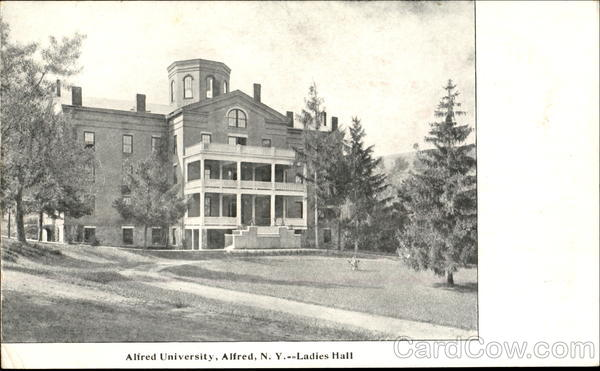 Ladies Hall, Alfred University New York