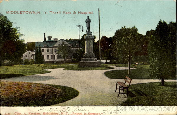 Thrall Park & Hospital Middletown New York