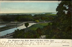 The Mississippi From Bluffs, North of Elk River