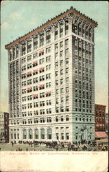 National Bank Of Commerce Postcard