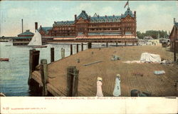 Hotel Chamberlin, Old Point Comfort Postcard