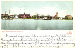 Hampton Institute Postcard