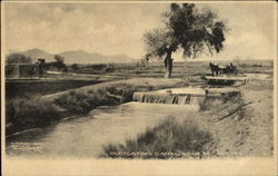 Irrigation Canal Near El Paso
