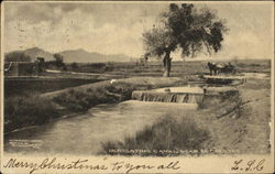 Irrigating Canal Near El Paso