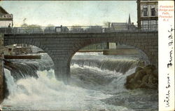 Pawtucket Bridge And Falls