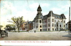 City Hall Townsend Industrial School And New High School