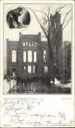 Springfield City Hall After The Fire