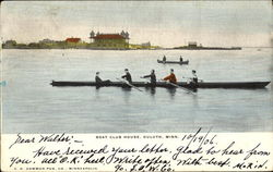 Boat Club House Postcard