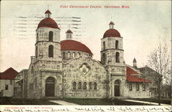 First Universalist Church Postcard