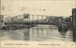 Swing Bridge At Bridge Street