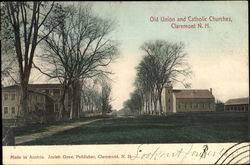 Old Union And Catholic Churches