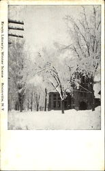 Erwin Library Winter Scene